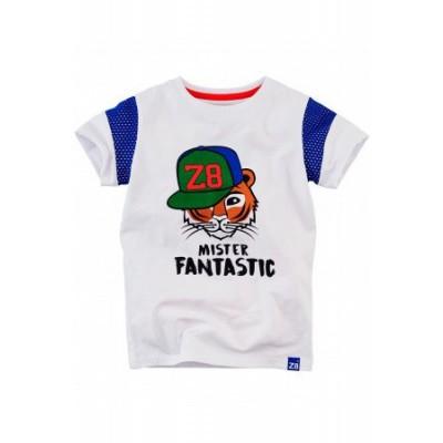 Z8 boys Daley T-shirt Bright White