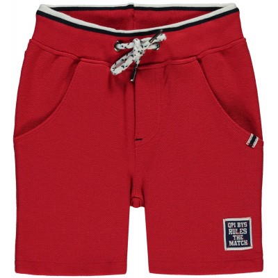 Quapi boy Pique Shorts Sietse 3 Red