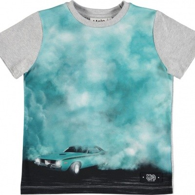 Molo shirt Raddix Burnout smoke