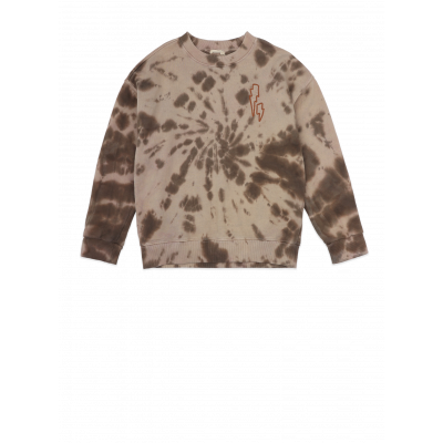 Foto van Ammehoela tie dye coffee sweater
