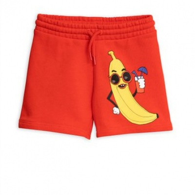 Foto van Mini rodini banana sp sweatshorts
