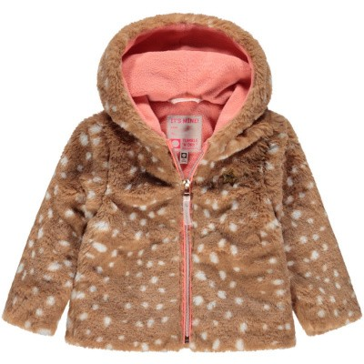 Tumble n dry baby girl jacket Jacha Cathay spice