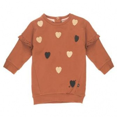 Feetje baby girl sweaterdress brown