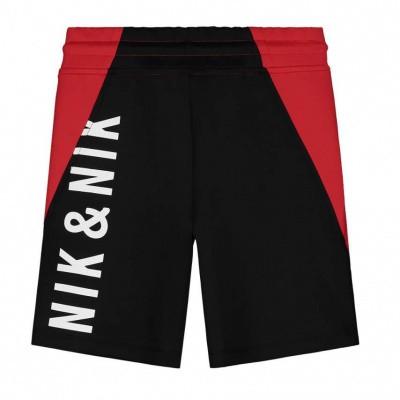Foto van Nik & Nik boys Farido Track Shorts Apple Red