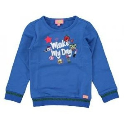 Foto van Funky xs girls sweater make my day