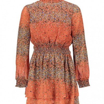 Frankie & Liberty Lara Dress Rusty Red/Flower print