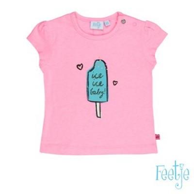 Foto van Feetje baby girls T-shirt korte mouw ice tropical