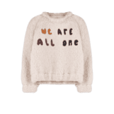 Foto van Ammehoela sweater we are all one