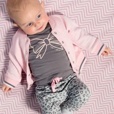 Quapi newborn longsleeve zanna grey