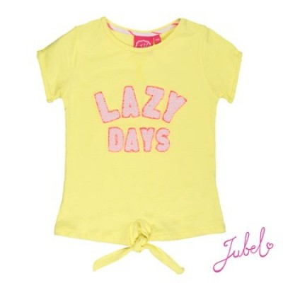 Jubel T-shirt korte mouw lazy days La isla