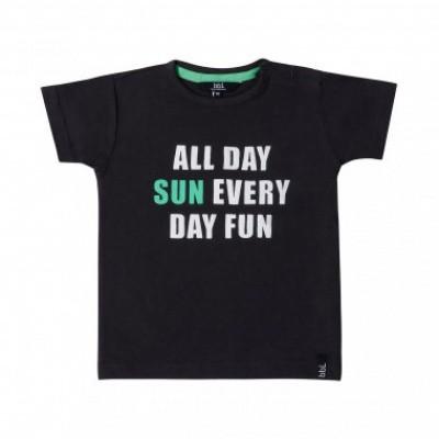 Foto van Beebielove boys t-shirt all day sun black