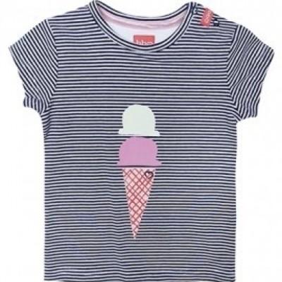 Foto van Beebielove Baby T-shirt Icecream NVY