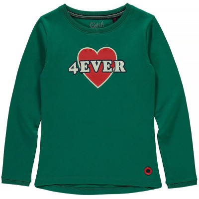 Quapi girls Tanaya Longsleeve Forest Green