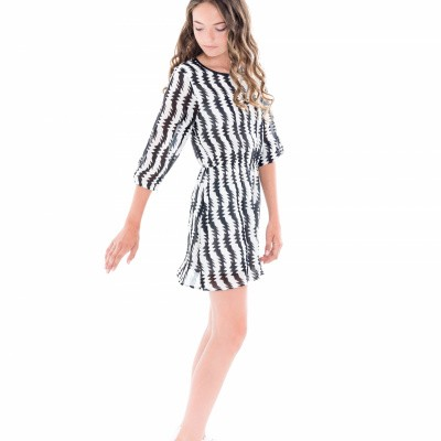 Foto van Frankie & Liberty dress Jasia black white