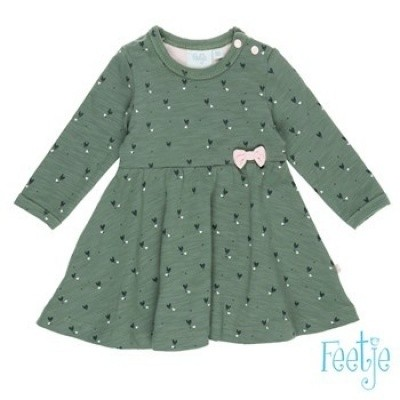 Foto van FEETJE BABY GIRL DRESS ARMY