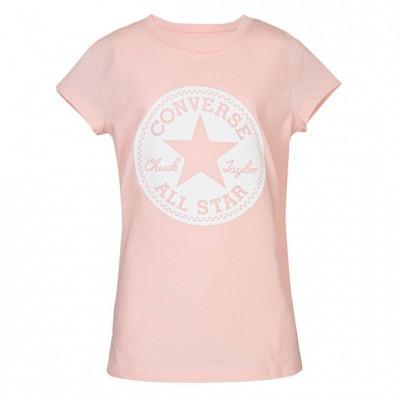 Foto van Converse girls Chuck Taylor Signature Tee Pink Foam