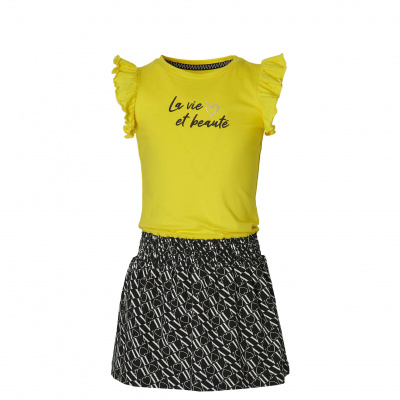 Foto van Quapi dress Falijne summer yellow