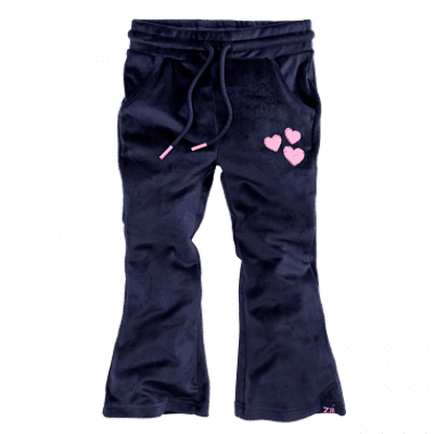 Foto van Z8 girls pants Wendela navy velvet