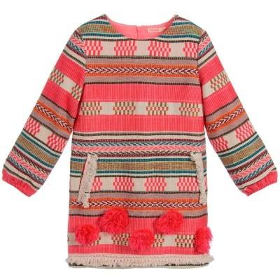 Billieblush girls dress Aztec