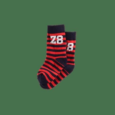Foto van Z8 boys sokken Bosse red pepper