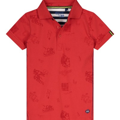 Quapi Ahmed Shirt Flame Red