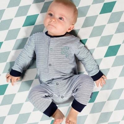 Foto van Quapi newborn boxpakje Zeb dark blue stripe