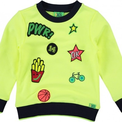 Funky xs BP PATCH SWEAT fluo yellow