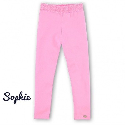 O chill girls legging Sophia neon pink