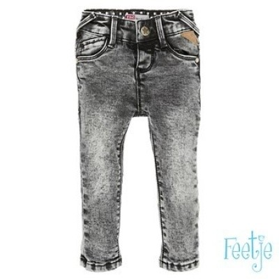 Foto van Feetje baby boy denim grey slim fit