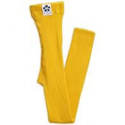 Foto van Mini rodini ribbed legging yellow