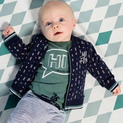 Foto van Quapi newborn Zander dark blue arrow