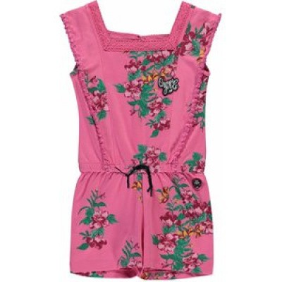 Foto van Quapi girls Shenna Jumpsuit Bright pink flower
