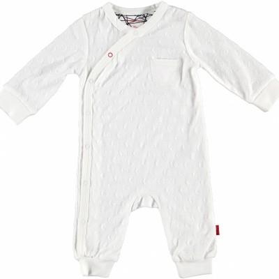 Foto van Bess newborn suit dots white