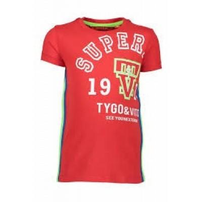 Foto van Tygo & Vito T-shirt Superior 215 red