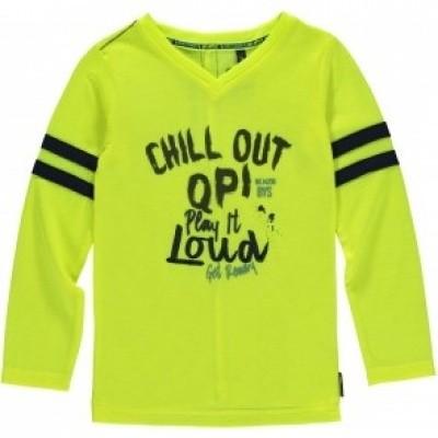 Quapi Lennox longsleeve Neon Yellow