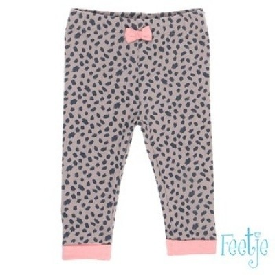 Foto van Feetje baby girl legging brown/leopard