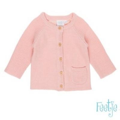 Feetje vest knit miss mini pink