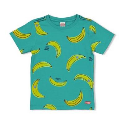 Foto van Sturdy shirt banana green