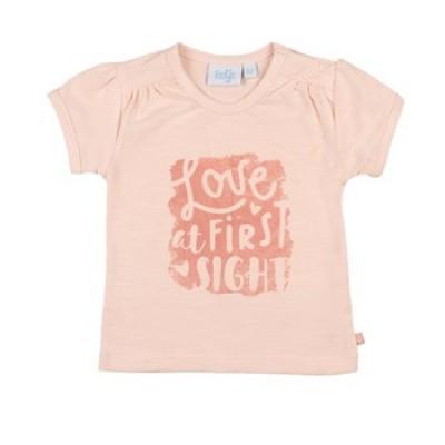 Feetje Baby Girl T-Shirt Love At Shells Licht Roze