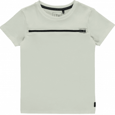 Foto van LEV boys Barend short sleeve Off white