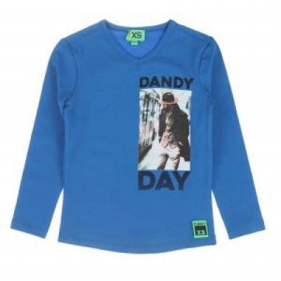 Foto van Funky xs boys Dandy Tee T-shirt Kobalt