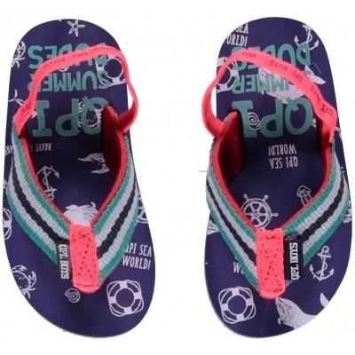 Foto van Quapi baby boy slipper Jelmar jeans blue seaworld