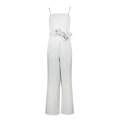 Foto van Frankie & Liberty Nikita Jumpsuit Check Black White Small