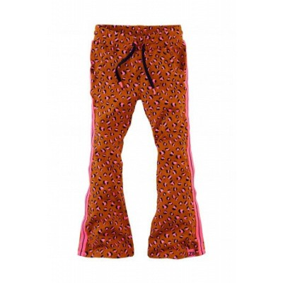 Foto van Z8 girls Kee Flaired pants Cognac/Leopard