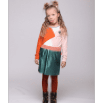 Foto van Little miss Juliette Metallic Skirt GRN
