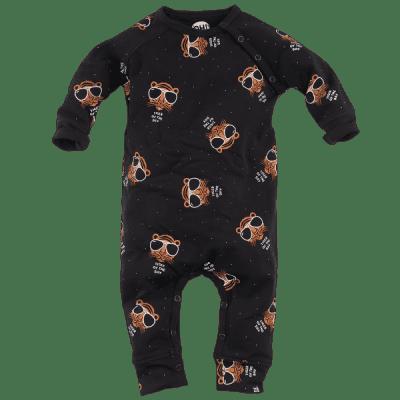 Foto van Z8 boys newborn Amsterdam boxpak zwart All over print tijger