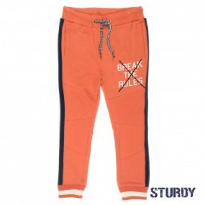 Foto van Sturdy Sweatbroek Treasure hunter orange
