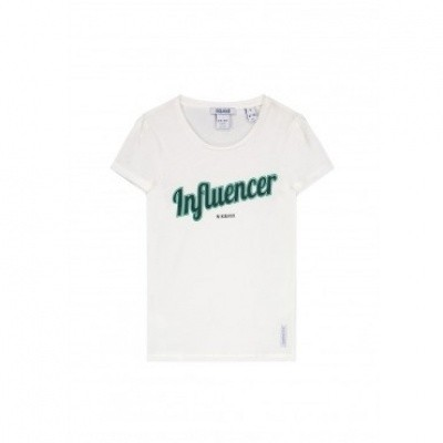 Nik & Nik Girls Influencer T-shirt Off White
