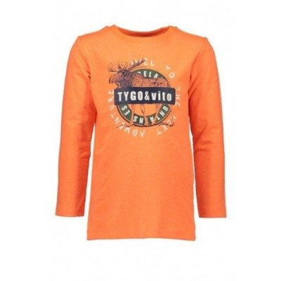 Tygo & Vito longsleeve neon orange
