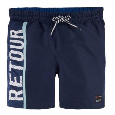 Foto van Retour boys Zwemshort Kane donker blauw